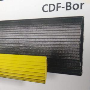A mangueira kanaflex cdf bor é de borracha sintética mais conhecida como nitrílica, com fio trançado de alta resistência e recoberta com borracha preta ou amarela