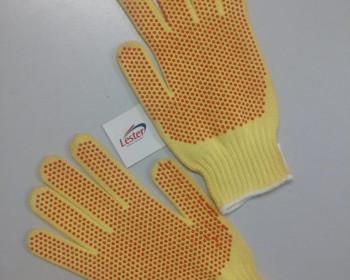 A luva de kevlar de segurança é confeccionada em fios de aramida e indicada para proteção da palma, dorso e punho da mão do usuário.