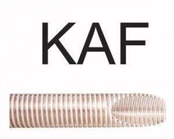 A mangueira Kanaflex flexível KAF é indicada no bombeamento por meio do acabamento interno chato. As mangueiras Kanaflex proporcionam diversas utilizações, pois, por possuírem uma espessura de parede alta e estruturada por arame de PVC rígido, acabam sendo mais resistentes.