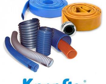 Para serviços leves, utilize a mangueira Kanaflex flexível KML azul transparente disponíveis em diâmetro de 3/4, 1, 1 1/4, 1 1/2, 2 e 2 1/2