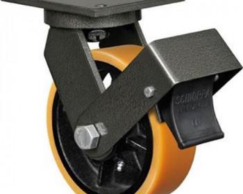 Os rodízios Schioppa com freio solucionam a movimentação sem perder a segurança em andaimes, carrinhos e diversos outros ambientes que precisam de auxílio para carga e descarga de objetos.