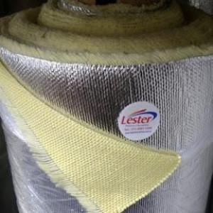 O tecido de aramida aluminizado tem grande poder retardante de temperatura ou vapor. Estes tipos de tecidos aluminizados em aramida tem uma gama de aplicações na indústria química, petroleira, civil e de mineração.