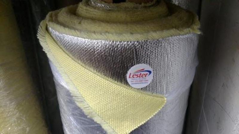 tecido de aramida aluminizado