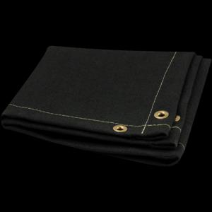 O tecido de Kevlar preto e o amarelo são para resistir às temperaturas elevadas e forte ao rasgo. Este é utilizado para confeccionar cortinas em estufas, juntas e dutos de dilatação e equipamentos para proteção exposto ao corte.