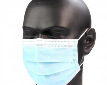 A máscara descartável branca com elástico oferece proteção respiratória eficiente, tendo um formato exclusivo que encaixa com suavidade em qualquer formato de rosto, além de permitir durabilidade e conforto.