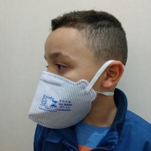 A máscara descartável Maskface com elástico PFF1 é produzida para a proteção contra a inalação de partículas, gases e vapores com baixa concentração de contaminantes. Acima de um certo percentual, é recomendado optar por respiradores com manutenção, que são utilizados cartuchos apropriados para cada aplicação.